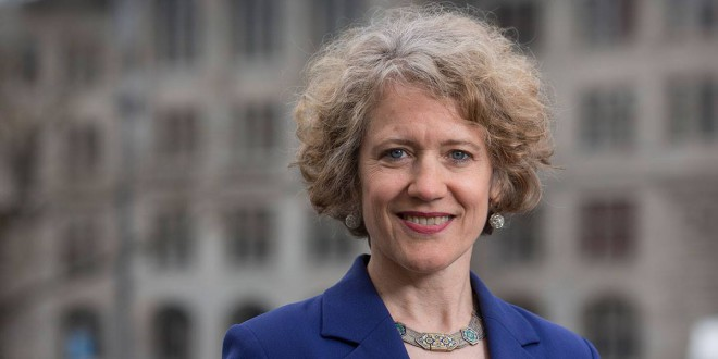 Stadtpräsidentin Corine Mauch für friedliches Zusammenleben