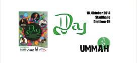 Ummah-Day 2014 am 18. Oktober in Dietikon