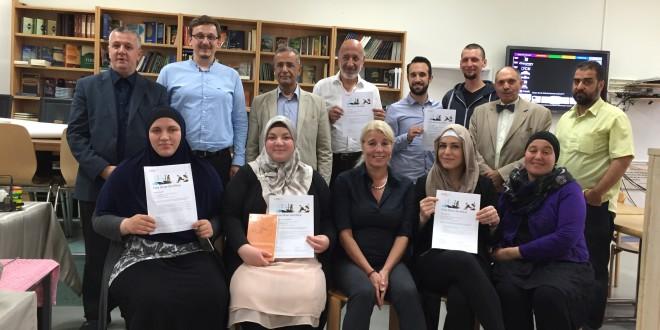 Zertifikatsfeier Muslimische Notfallseelsorge Zürich
