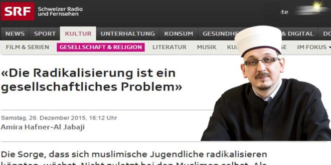 SRF Kultur vom 26. Dezember 2015: «Die Radikalisierung ist ein gesellschaftliches Problem»