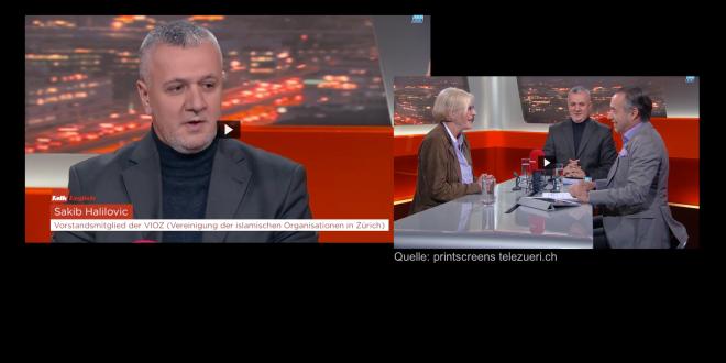 TeleZüri vom 5. April 2016: «Händedruck-Verweigerung»