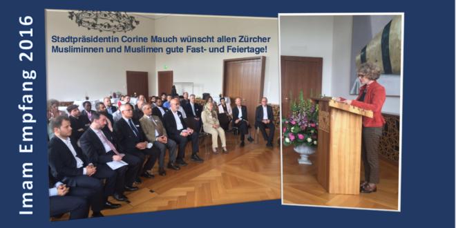 Empfang der Imame durch Stadtpräsidentin Corine Mauch