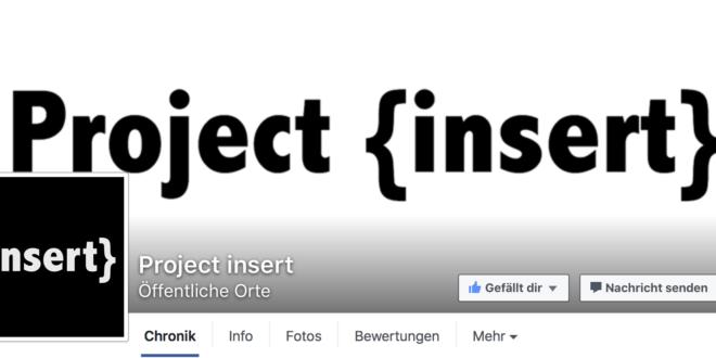 Project {insert} – von Jugendlichen für Jugendliche