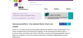 kath.ch vom 21. März 2017: Islamwissenschaftlerin: «Eine nationale Muslim-Charta wäre sinnvoll»