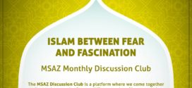3. Mai – MSAZ: «Monthly Discussion Club: Islam between fear and fascination»