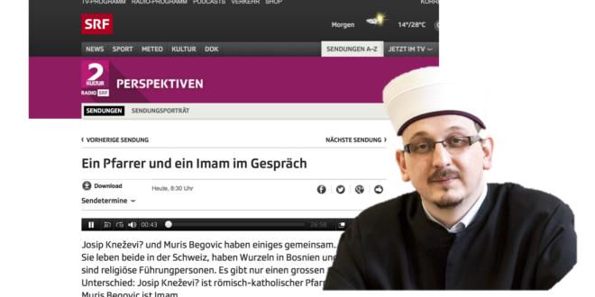 SRF 2 Kultur vom 16. Juli 2017: «Ein Pfarrer und ein Imam im Gespräch»