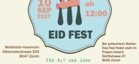 10. September – Ummah & Y4C u.a.: «EID Fest»