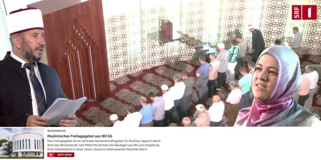 SRF 1 vom 27. August 2017: «Gottesdienst – Muslimisches Freitagsgebet aus Wil SG»