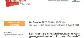 kath.ch vom 18. Oktober 2017: «Kein Grund, warum wir nicht weitere religiöse Minderheiten integrieren sollten»