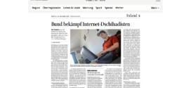 Schaffhauser Nachrichten vom 20. Oktober 2017: «Bund bekämpf Internet-Dschihadisten»